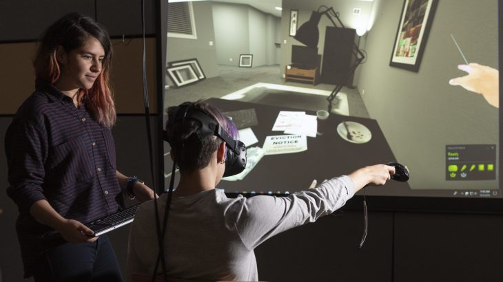 New research uses a virtual reality experience to see how this new technology can affect people's level of empathy.