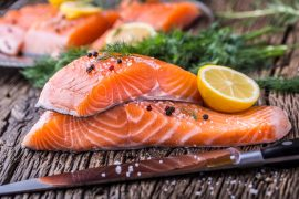 Omega-3 fatty acids, especially those found in seafood, may be able to aid in healthy aging, according to a new study.