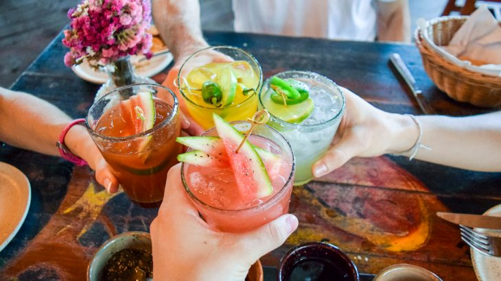 The study revealed that individuals with the least risk of death were those who drank one or two beverages 3 times per week.