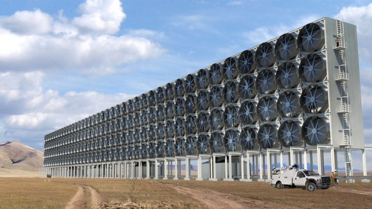 Carbon Engineering has developed promising direct air capturing technology that could capture carbon dioxide using fans.
