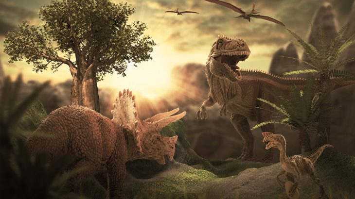 Even though there was little oxygen in the atmosphere, dinosaurs were quick, agile, and ruled the food chain.