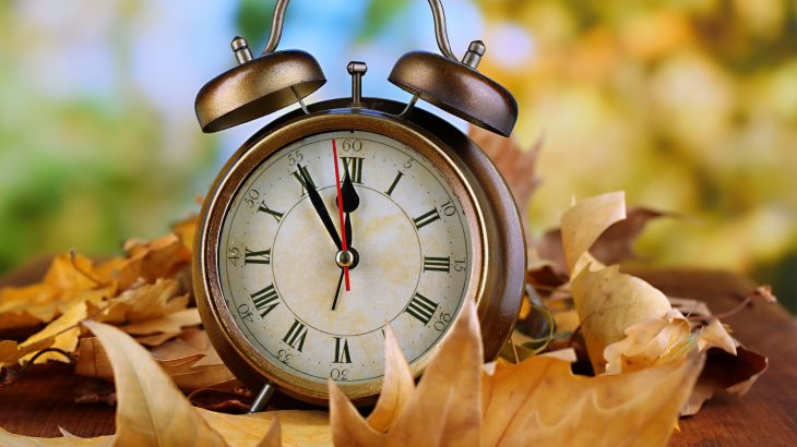 "It's that time of year again when we ""fall backward"" and set the clocks back one hour in observance of Daylight Saving Time."