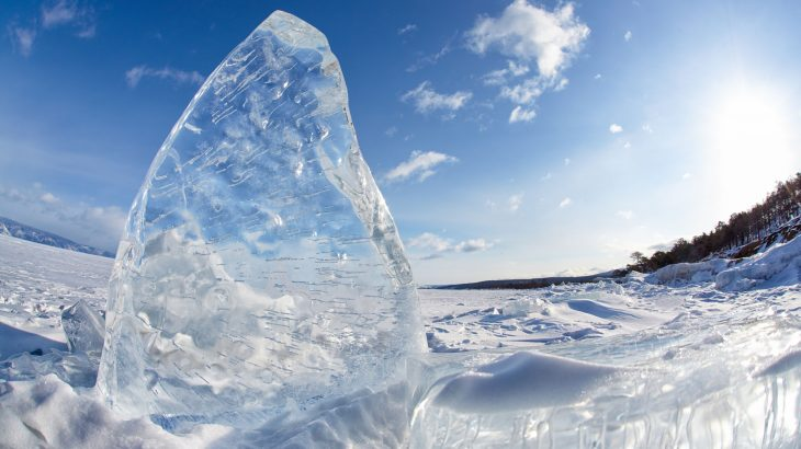 What is clear ice?