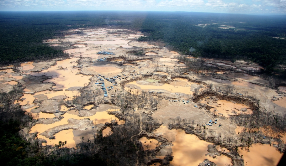 Scientists have found that more than 170,000 acres of primary rainforest in the Peruvian Amazon has been destroyed by small-scale gold mining.