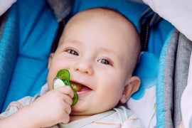 New research shows that sucking on a pacifier before putting it in your baby's mouth can help strengthen your child's immune system.