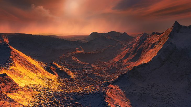 An international team of experts has discovered a frozen Super-Earth orbiting Barnard's star, the closest single star to our Sun.