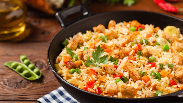 In a new study, researchers used the science of cooking to take a closer look at the tossing techniques used for fried rice and stir-fry.