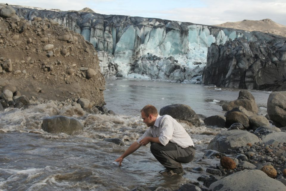 An investigation led by Lancaster University has revealed that glaciers are a potential source of large methane emissions.