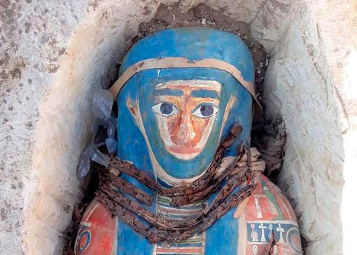 Recently, eight ancient Egyptian mummies were discovered near the Great Pyramids of Giza during an archeological expedition.