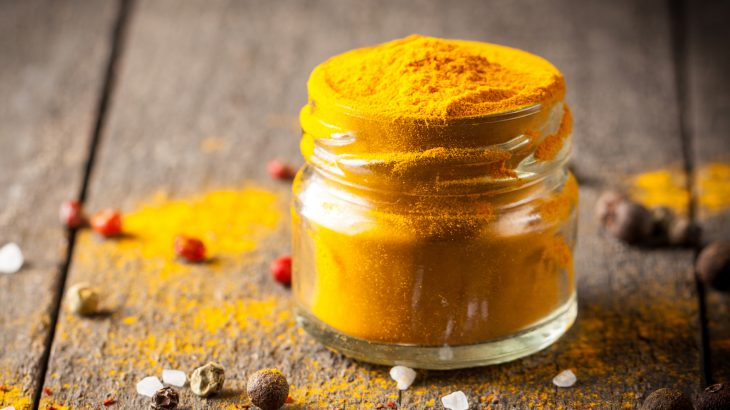 Curcumin, the main chemical ingredient in curry, may improve exercise intolerance in relation to heart failure.
