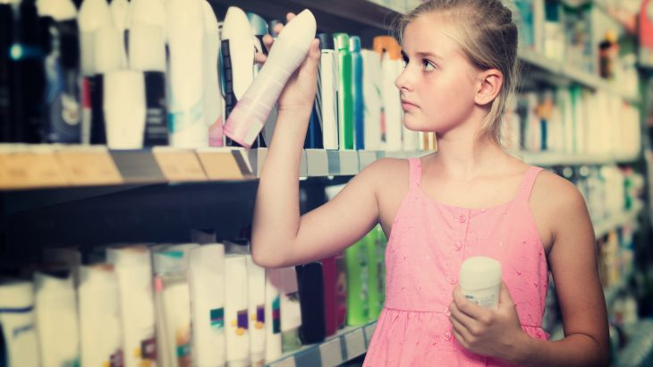 A long-term study has revealed that chemicals found in common household products may be causing girls to enter puberty at younger ages.