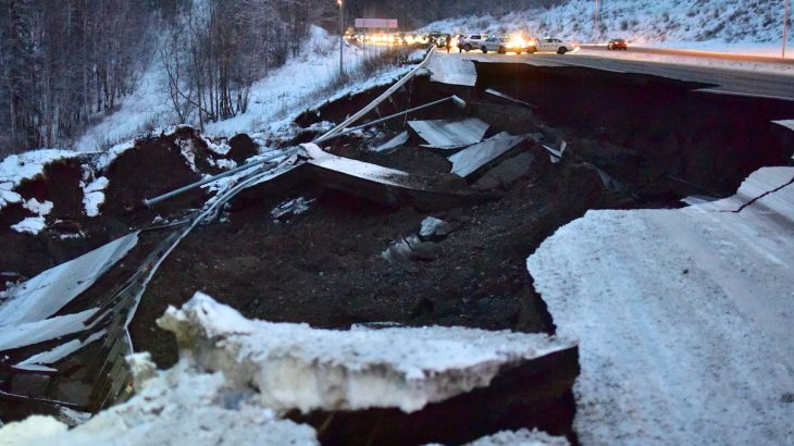 Earthquake preparedness and building codes played a major role in minimizing the damage sustained during Alaska's recent earthquake.