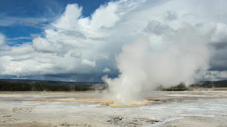 Steamboat Geyser, the world's tallest geyser, set a new record this past weekend when it erupted for the 30th time in 2018.