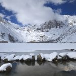 Experts are predicting a 79 percent drop in Sierra Nevada mountain peak snowpack water volume by the end of this century.