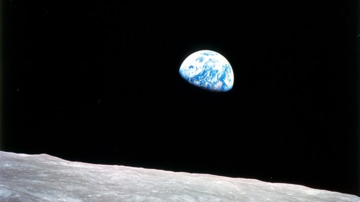 50 years ago on Christmas Eve, Apollo 8 astronaut William Anders captured this iconic image of the Earth from space.
