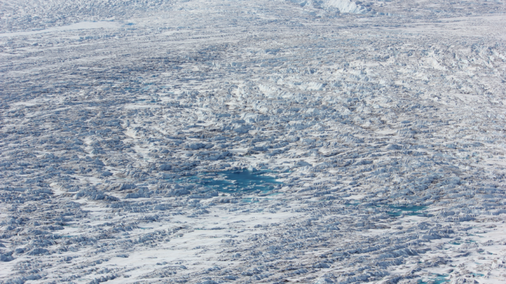 75 percent of the Earth's freshwater is frozen in glaciers which have been steadily retreating since the early half of the 20th century.