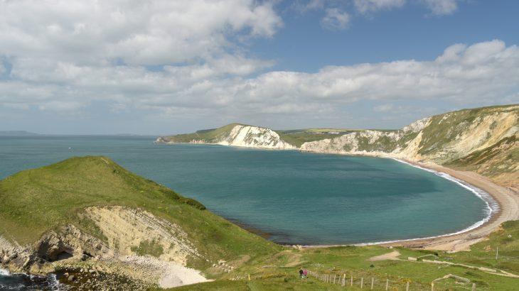 A group of volunteers recently removed 1 metric ton of plastic shipping and fishing waste along Worbarrow Bay in Dorset, England.