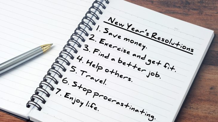 Why is it so hard to follow through with New Year's Resolutions