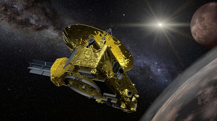 On January 1, 2019, NASA's New Horizons spacecraft did a flyby of Ultima Thule sending back blurry photos and signals.