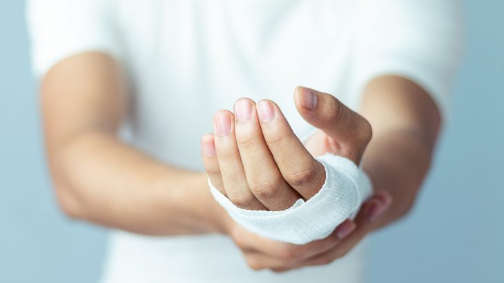 A new biomaterial can interact with human tissue and could potentially change the way wounds are healed in the future.