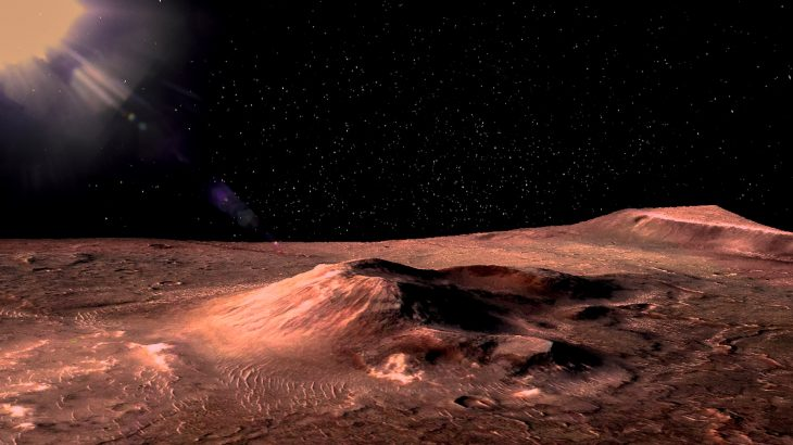 A new study from NASA says that Martian ice sheets could be used to create wells that produce enough water to sustain human life.