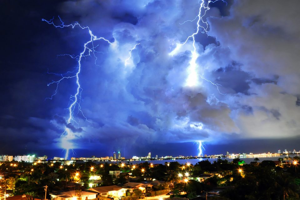 According to the Vaisala Annual Lightning Report, Florida and Texas had the highest number of lightning strikes last year.
