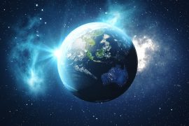 Earth may have received most of its elements essential for life - nitrogen, carbon, and other volatile elements - from another planet.