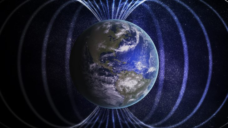 "A new study has found that the Earth's magnetic field was ""on the verge of collapse"" around 565 million years ago."