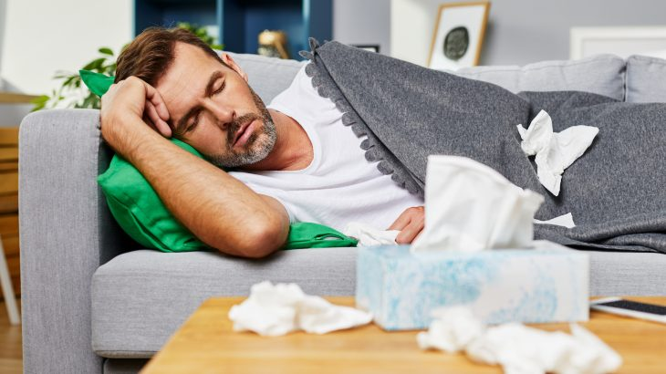 Researchers from the the University of Pennsylvania have located the gene that increases our need for sleep when we're sick.