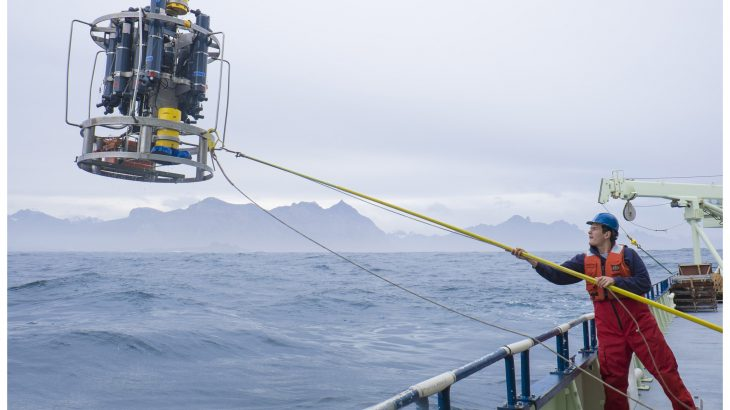 A deep-ocean process that regulates Earth's climate is driven by cold waters off the western coast of Europe.