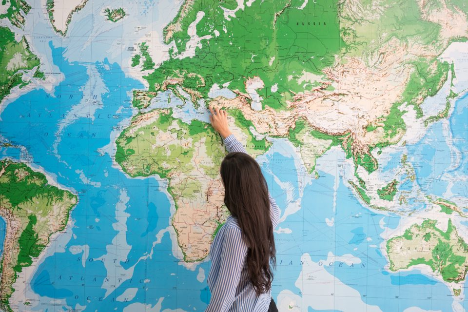 A US Strategic Task Force of Education Abroad report found US geographic ignorance is so widespread that it may be a national security threat.