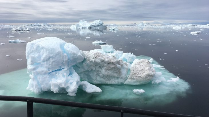 By the year 2100, severity of weather will be greater due to melting ice sheets off Greenland and Antarctica.