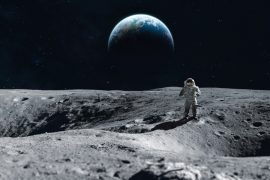 NASA has plans for a manned mission to the Moon, along with an orbital moon station.
