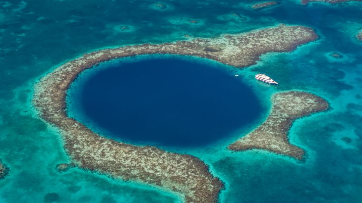 A recent expedition has produced the first 3D map of the world's largest underwater sinkhole, the Great Blue Hole.