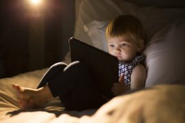 A new study has found that screen time for children under the age of two has more than doubled since 1997.