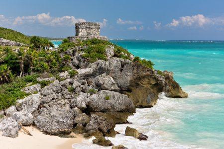 Beach Below the Ruins