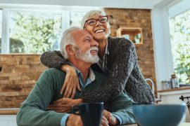 A new study reports that couples who share long-term happiness within marriage may have genes to thank for their longevity.