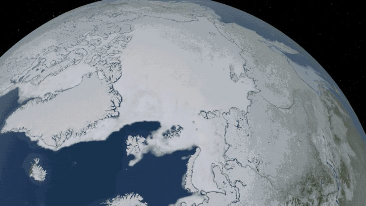 A new study shows that a long-term natural warming phase aggravated by human greenhouse gas emissions could lead to an ice-free Arctic September closer to 2030.