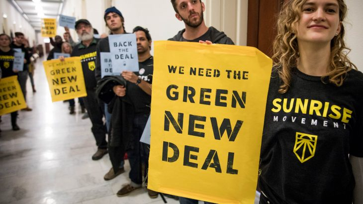 The proposed Green New Deal of course references FDR's famous New Deal and is similarly ambitious, but what exactly does it include?