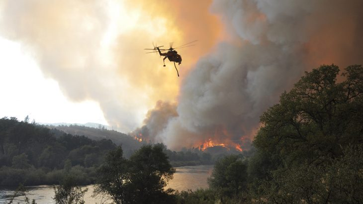 A new study has found that a wet winter can no longer be counted on as a deterrent for California wildfires.