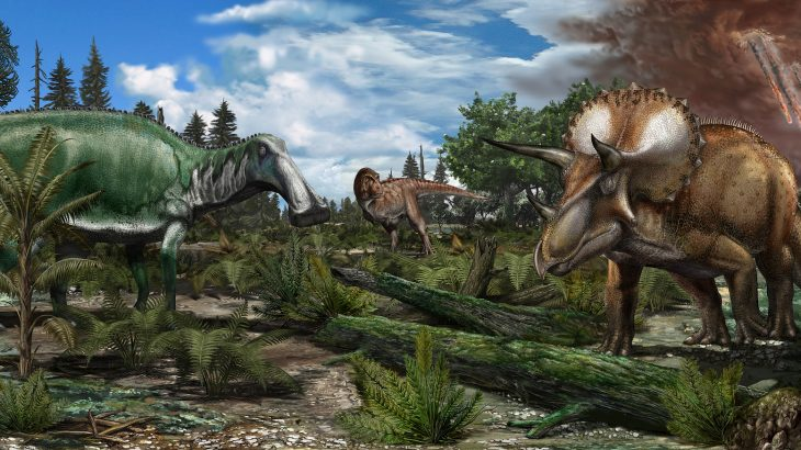 A new study has found that dinosaurs had survived millions of years of long-term climate changes and were flourishing at the time of the devastating asteroid strike.