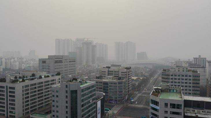 This week, air pollution in South Korea has reached alarming levels, and fine dust levels have reached a new high.