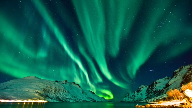 Natural events that inspire a sense of awe, like the aurora borealis, can also inspire scientific interest, new research found.