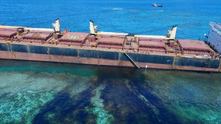 After a ship ran aground and began spilling oil into a coral reef, it revealed a history of corrupt mining practices and exploitation in the Solomon Islands.