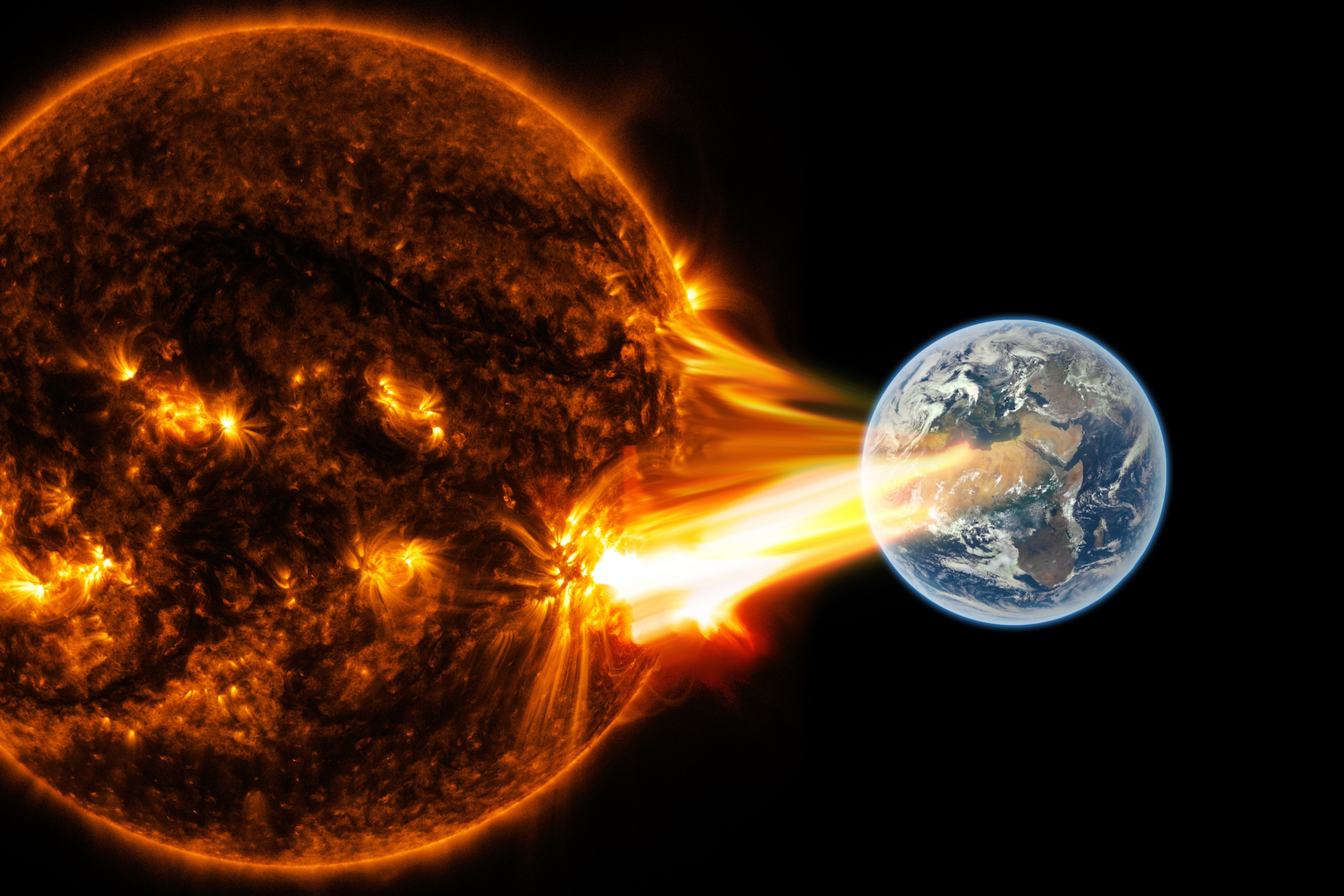 New evidence shows massive solar storms in Earth's history ...