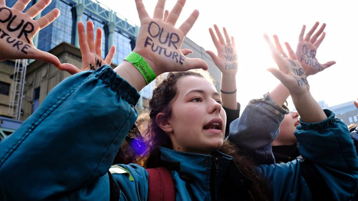Students from thousands of schools across over 100 countries are expected to take part in today's Youth Climate Strike.