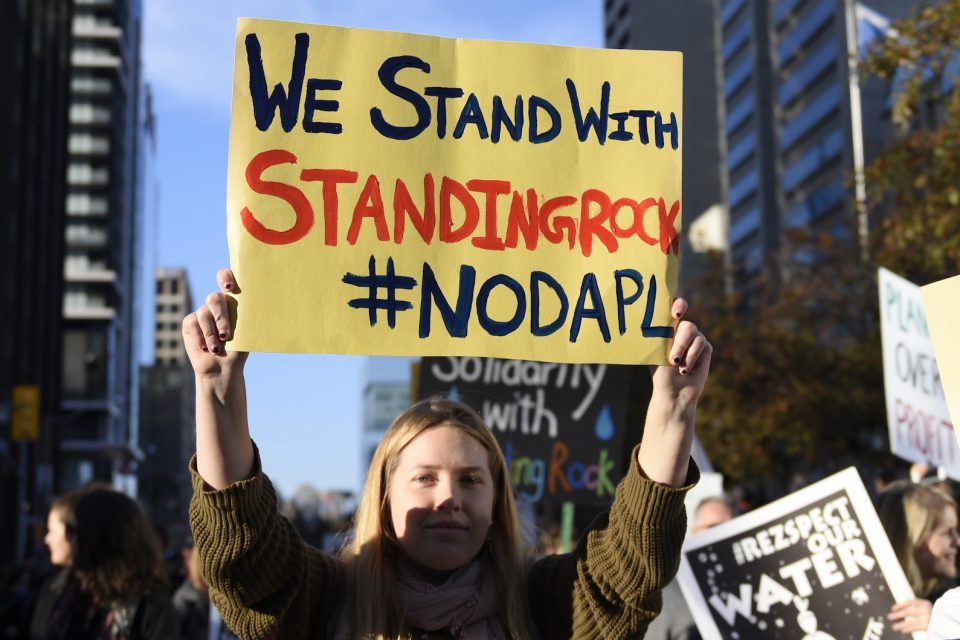 In response to pipeline and climate change protests, more and more states are introducing legislation to crack down on protesters.