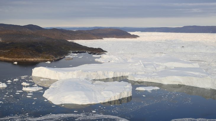 The Jakobshavn Glacier in Greenland is growing again, reversing a 20-year pattern of melting, according to a new NASA study.