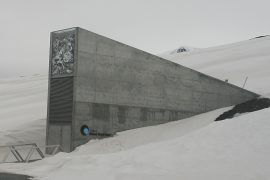 The vault serves as a long-term seed storage facility that was built not only to withstand the test of time, but also to endure catastrophic natural or man-made disasters.