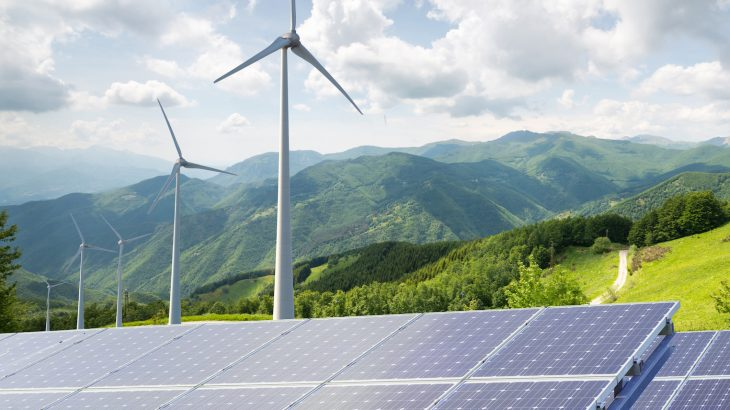 An international team of researchers has determined that renewable forms of energy such as solar panels and wind turbines provide a better approach for tackling climate change